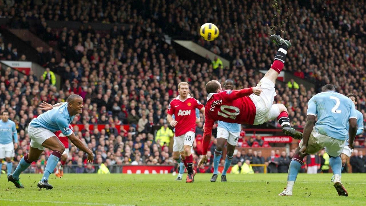 VIDEO: Xem lại tuyệt phẩm của Rooney vào lưới Man City