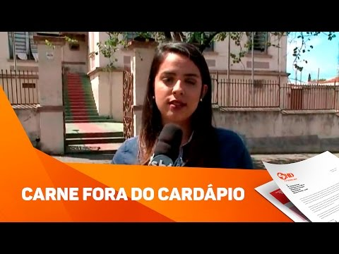 Sem carne na merenda escolar - TV SOROCABA/SBT