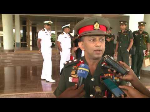 Abasirikare 16 baturutse muri Sri Lanka bari mu ruzinduko rw'ibyumweru 2 mu Rwanda