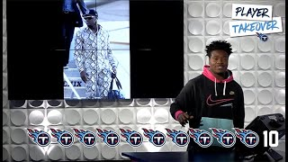 Jayon Brown Rates Teammates' Travel Outfits | Titans Fashionista