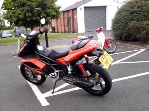 2005 cpi gtr 50 lc scooter 50mph fast only 1k 12ms mot youtube. Black Bedroom Furniture Sets. Home Design Ideas
