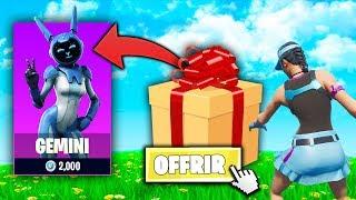 Tu Perds tu Offres un Skin #2 ! Fortnite Créatif Game