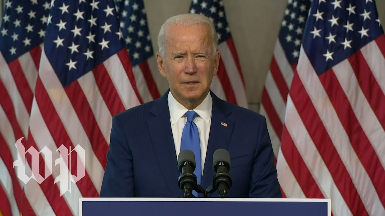Key moments from Biden's speech on Ruth Bader Ginsburg and the Supreme Court
