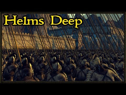 Ultimate Siege Of Helm's Deep - Rise Of Mordor Mod Gameplay