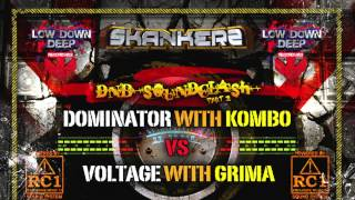 Dominator & Kombo VS Voltage & Grima - DNB Soundclash 2015