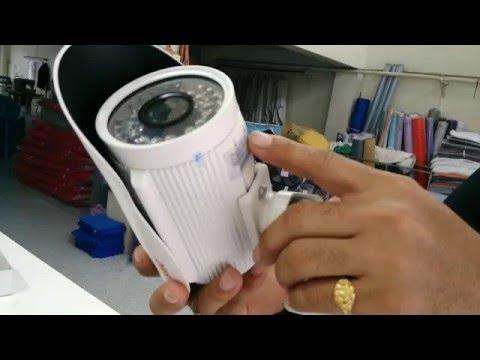 แนวทางการเดินสายไฟติดตั้งกล้องวงจรปิดด้วยสายสัญญาณ PSI HIGH SPEED ตอนที่1
