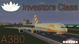 Roblox Airline Review: FlyKutos A380 Investor Class (en)