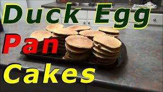How To Make Duck Egg Pancakes 100% Whole Wheat