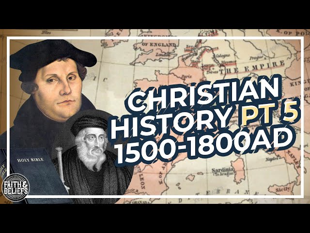 The Western Schism, Martin Luther, and Reformation (1300-1805 AD)