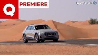 Finalmente guidata la prima elettrica di Audi: ecco la E-tron!