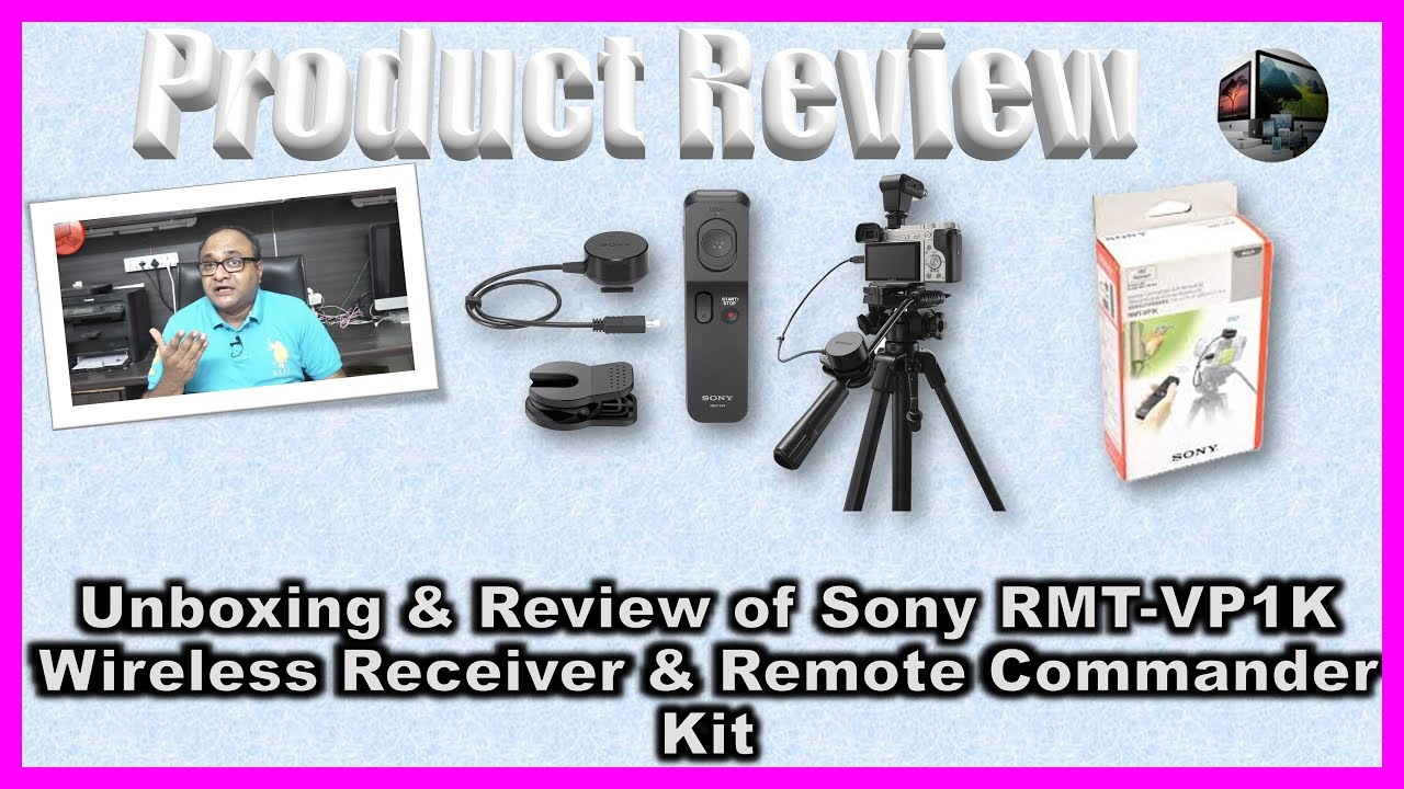 Unboxing & Review of Sony RMT VP1K Wireless Receiver & Remote Commander Kit