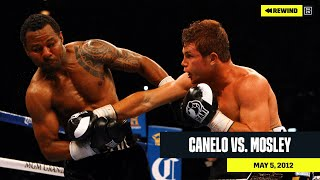 FULL FIGHT | Canelo Alvarez vs. Shane Mosley (DAZN REWIND)
