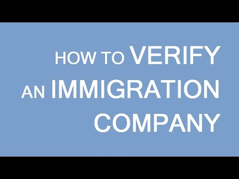 How to verify an immigration company. Visas and Immigration to Canada