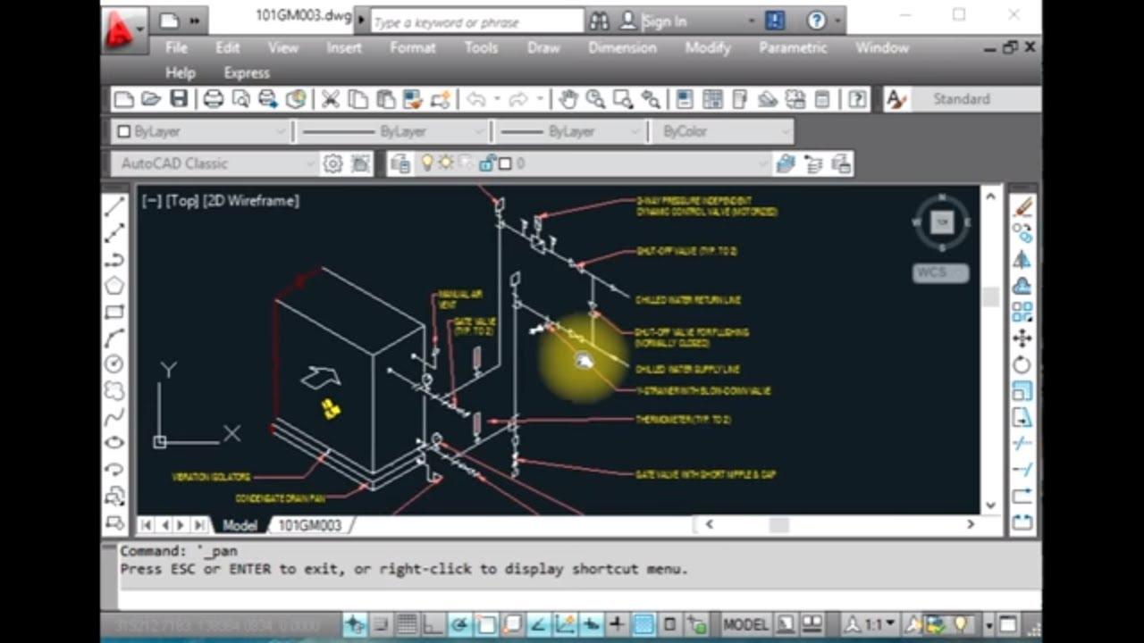 HVAC  AHU valve connection details  YouTube