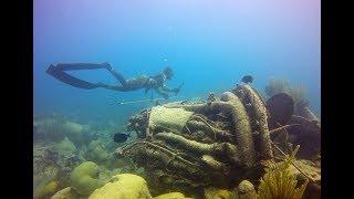 Freedive Airplane Wreck ~ Bermuda