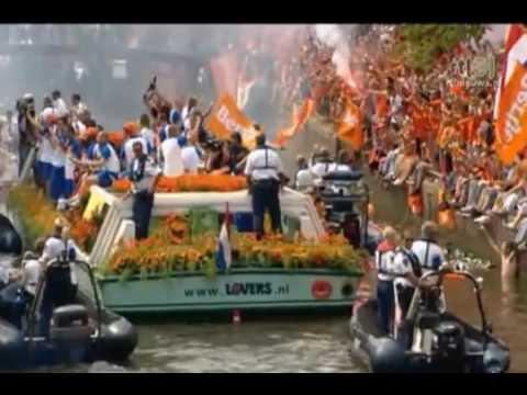 De Rondvaart door de grachten Huldiging 2010 5 11 Spain España 스페인 Spanien Iran