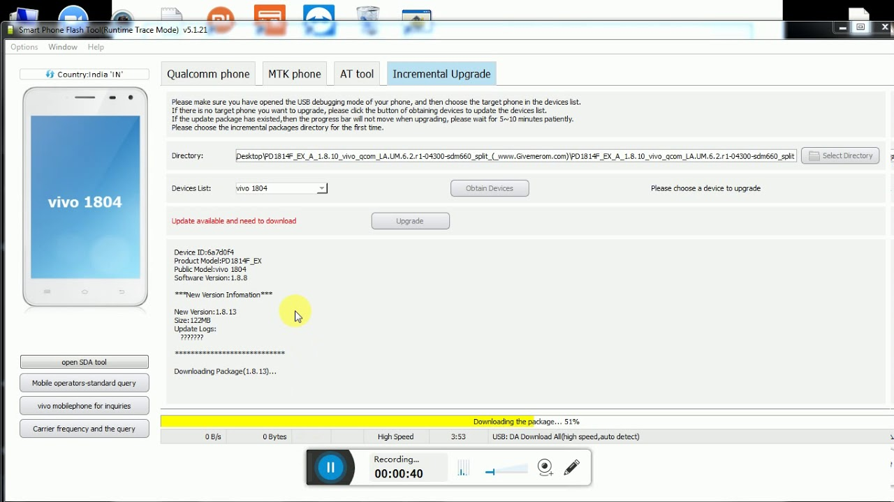 VIVO V11 Pro Flashing AF Tools (((PremKASGANJ)))(((1804))((PD1814F)))