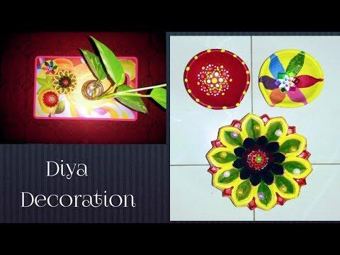 DIY: Easy & Beautiful Diya Decoration Ideas