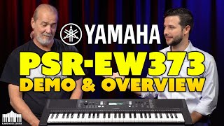 NEW Yamaha PSR-E373 61 Key Portable Keyboard - DEMO & Overview
