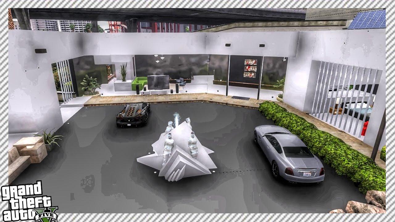 Interesting Modern Art House GTA 5 MOD YouTube