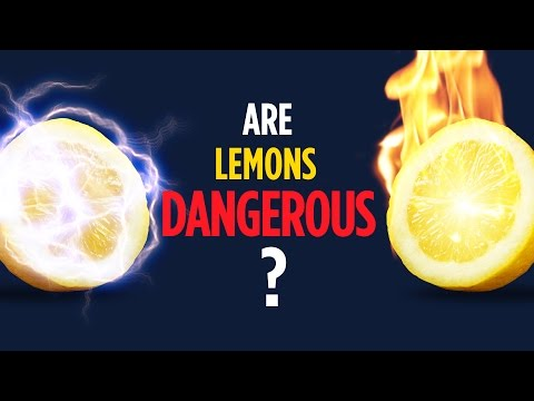 Electricity and Fire in Lemon Battery EXPLAINED