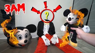 DO NOT MAKE MICKEY MOUSE VOODOO DOLL AT 3 AM CHALLENGE!! (ACTUALLY WORKED!)