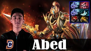 Abed - Dragon Knight MID | Dota 2 Pro MMR  Gameplay