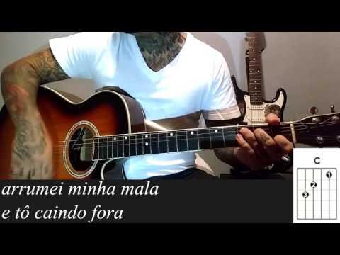 Felipe Araujo e Henrique e Juliano - A mala é falsa como tocar no violão Simplificada