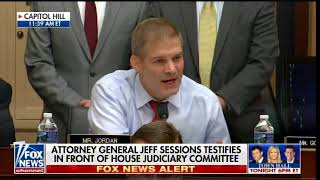 SESSIONS REFUSES SECOND SPECIAL COUNSEL After GOP Lawmaker Jordan Grills AG in House Hearing Free HD Video
