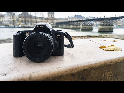 Un bon REFLEX ARGENTIQUE à 20€ [Canon EOS 500]