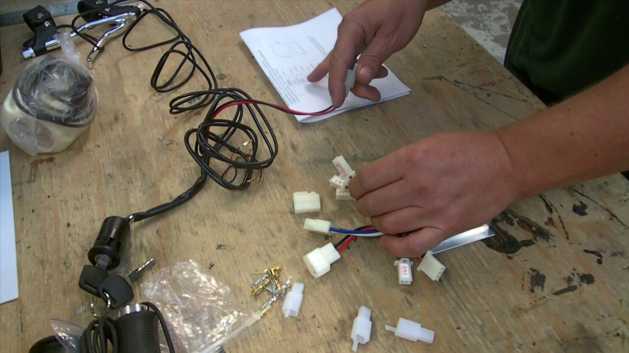Diy E Bike Kit Wiring Help Youtube Electric