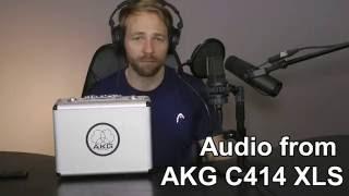AKG C414 XLS comparison - Male Voice