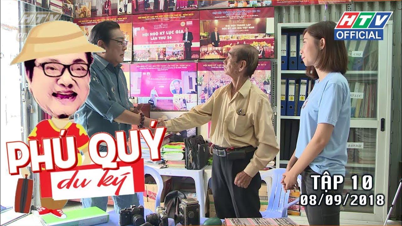 image HTV PHÚ QUÝ DU KÝ | Đi tìm kỷ lục gia nhiếp ảnh Hồ Đại Phước | TẬP 10 | PQDK  #10 8/9/2018