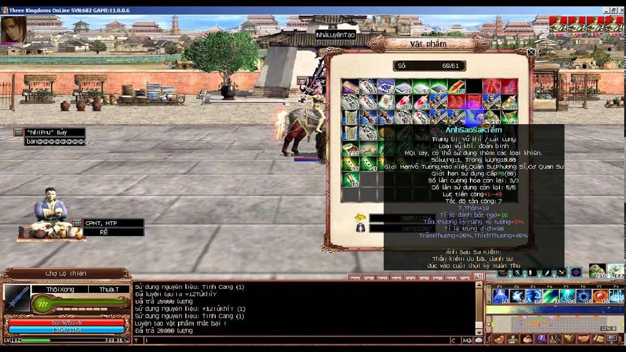 TQC 2D AS, phá của vì đã chán game
