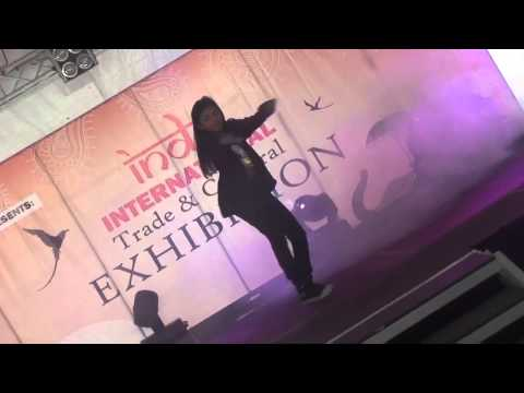 DEEPSHIKA - Mauritius Dancing Star Competition at Indo International Trade & Cultural Exhibition