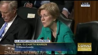 Sen. Elizabeth Warren; Why Don't You Shoot down North Korea Test Missiles?