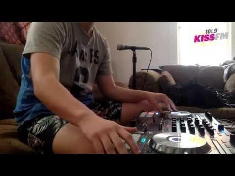 DJ Ben Murray  Mix on 101 9 KissFM 61915 Pioneer DDJSX2