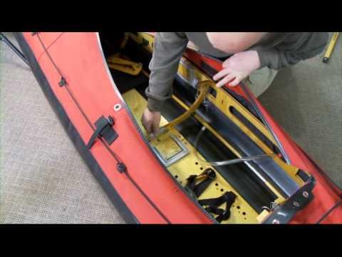Long Haul Folding Kayaks Mark I Assembly