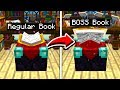 How to turn EVERY Minecraft ITEM into a BOSS!