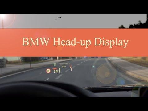 Review: BMW Head-Up Display (hier im 4er BMW - BJ 10.2014)