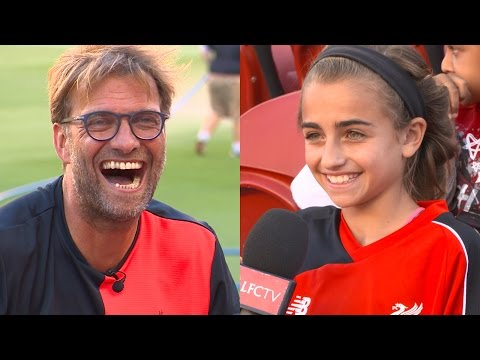 Jürgen Klopp interviewed by American kids