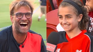 Jürgen Klopp interviewed by American kids in California