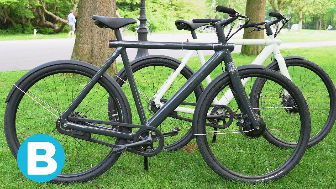 Deze nieuwe e-bikes van VanMoof maken het dieven nog lastiger