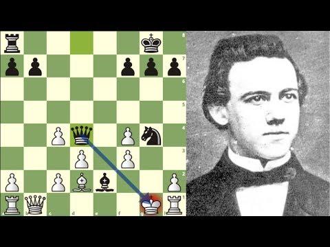¿MEJOR QUE BOBBY FISCHER?: Morphy vs Schulten (Nueva York, 1857)