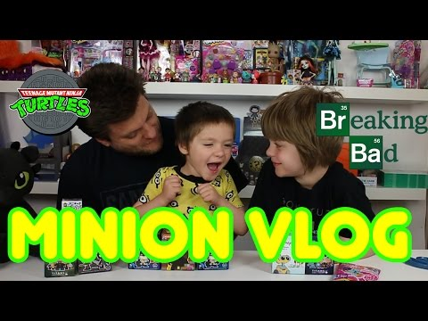 Opening Blinds Minion Vlog(Game of Thrones, DC, TMNT, MLP)- Day 691 | ActOutGames