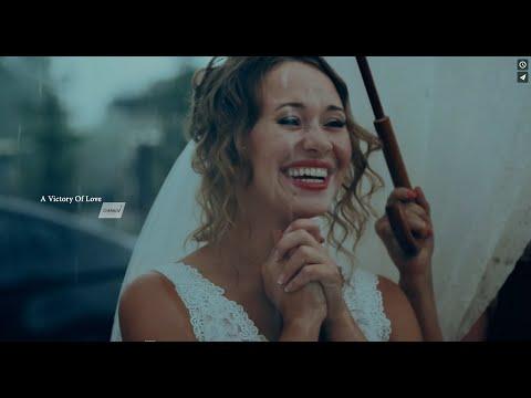 СМОТРЕТЬ ВСЕМ! На свадьбе пошел ливневый дождь! Свадьба в дождь