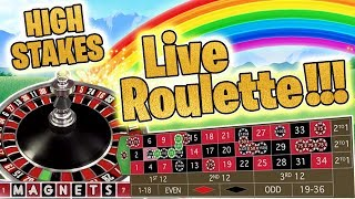 A Few BIG Stake Roulette Sessions!!!