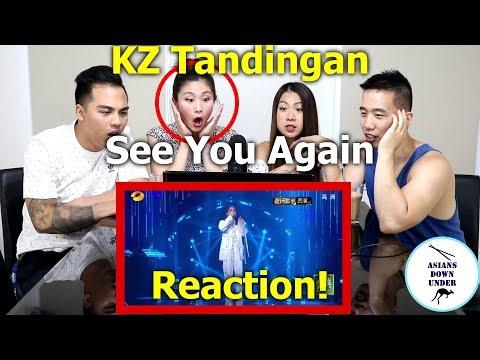 KZ Tandingan - See You Again | Reaction Video - Aussie Asians | Episode 10 谭定安 单曲纯享《再见你一面》第10期