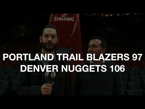 Postgame report: Nuggets top Trail Blazers 106-97