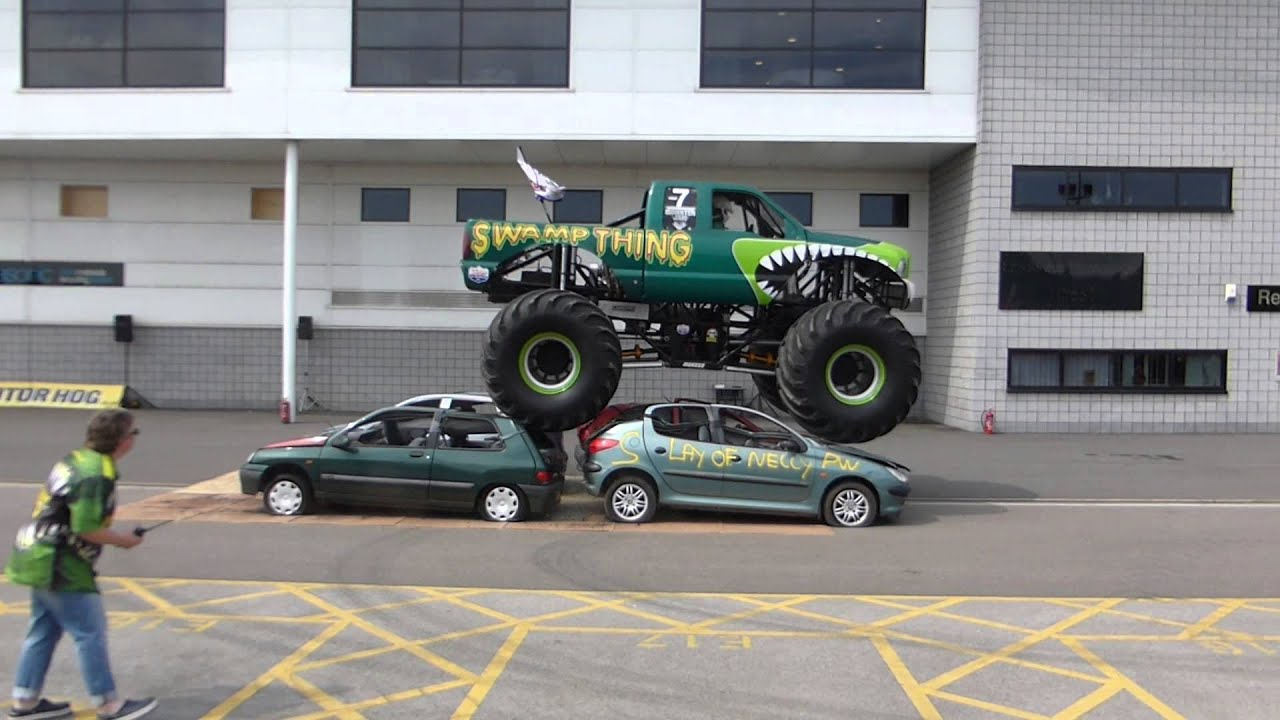 Swamp Thing Monster Truck Doncaster Rovers Car Show - Monster car show